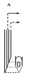 Hình 4: Kim điện cơ kiểu đồng tâm (concentric needle) là kim thông thường, dùng trong các xét nghiệm điện cơ thường quy, kim ghi được điện thế của một nhóm các sợi cơ (và do vậy ghi được các MUP).