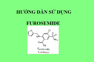 hướng dẫn sử dụng furosemide