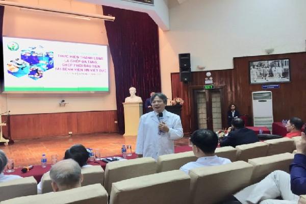 Bệnh viện Việt Đức thực hiện đồng thời 3 ca ghép tim, gan, thận cho 3 bệnh nhân