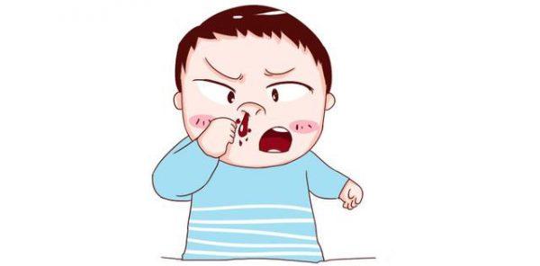 xử trí chảy máu cam ở trẻ em