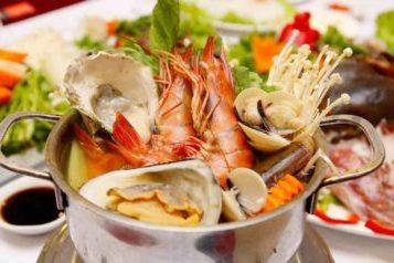 Ăn hải sản mùa nắng nóng
