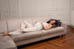 Nằm ngửa có nguy cơ tăng xảy thai