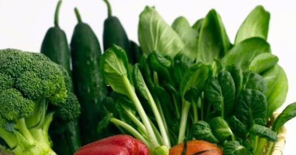 Rau xanh giúp ngăn ngừa chốc mép tái phát