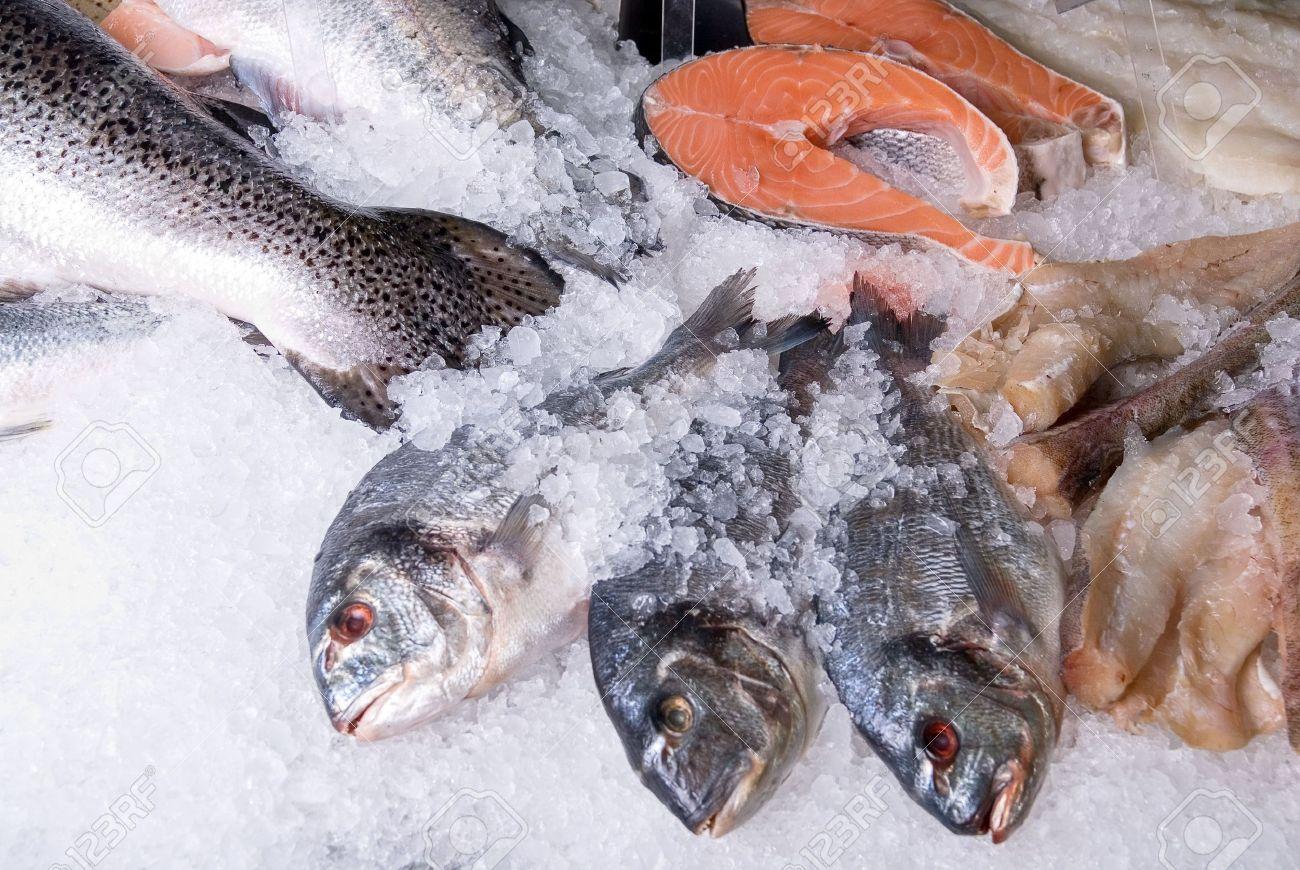 Hải sản đông lạnh