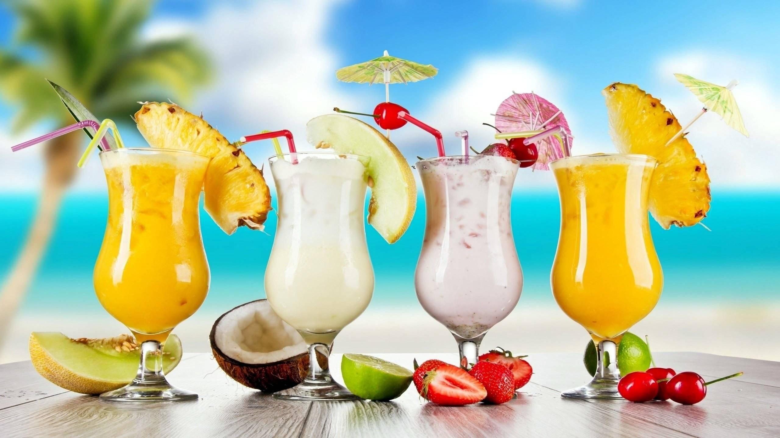 Nước ép hoa quả là nguồn cung cấp vitamin dồi dào