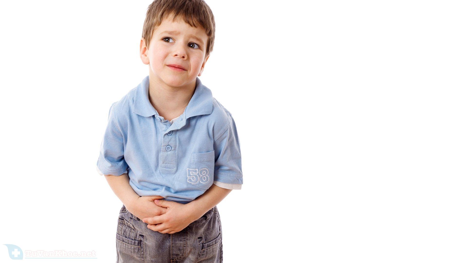 Trẻ hay bị rối loạn tiêu hóa