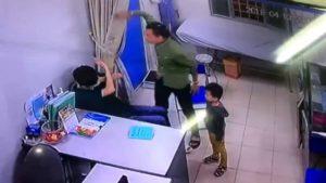 Vụ hành hung bác sĩ tại Bệnh viện Xanh-Pôn Hà Nội.