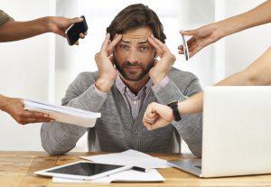 Huyết áp có thể tăng nhất thời khi stress