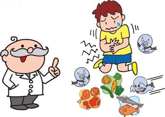 Ngộ độc thức ăn là một trong những nguyên nhân tiêu chảy cấp