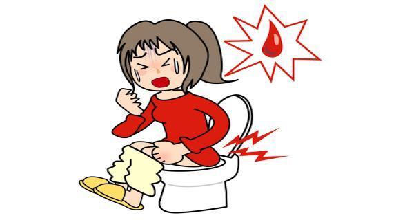 Đi ngoài ra máu có thể là triệu chứng đau dạ dày