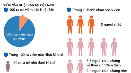 Tình hình bệnh viêm não Nhật Bản tại Việt Nam