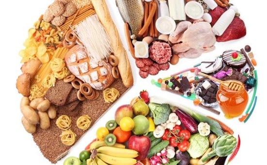Bữa ăn nên có đủ 4 nhóm thực phẩm