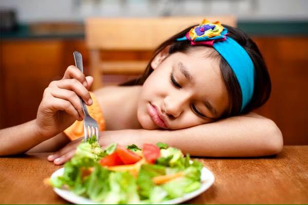Kém ăn là một triệu chứng đau dạ dày