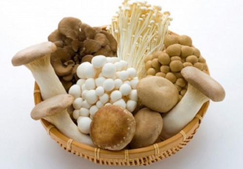 Ăn các loại nấm là một trong những cách hạ huyết áp rất hiệu quả