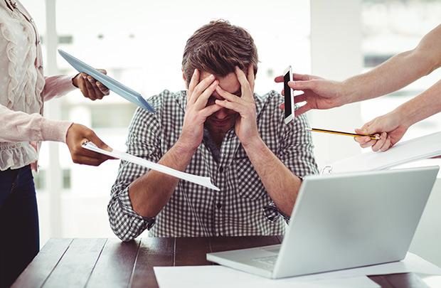 Stress - thủ phạm gây viêm loét dạ dày