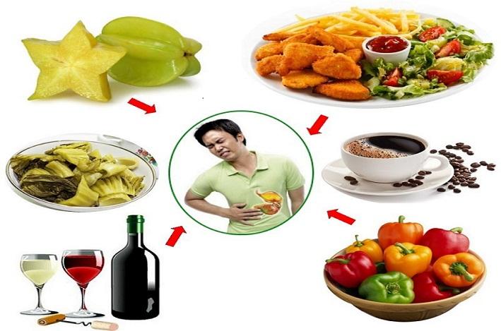 Những thực phẩm không tốt cho người bị viêm loét dạ dày