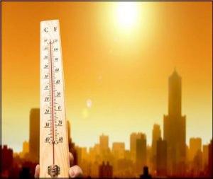 Trời nắng nóng