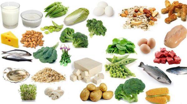 dinh dưỡng cho người loãng xương