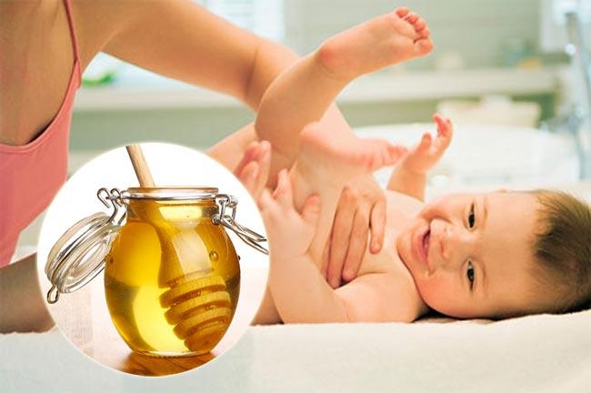 Mẹo chữa táo bón ở trẻ em bằng mật ong