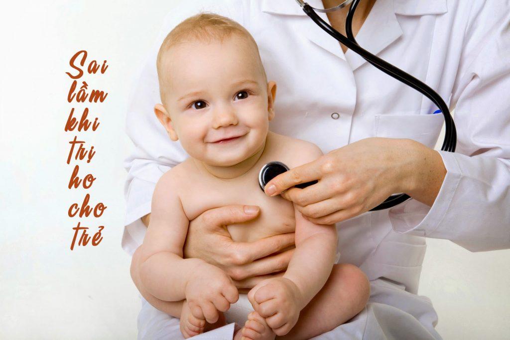 Cần lưu ý những điều gì trong cách trị ho cho trẻ?