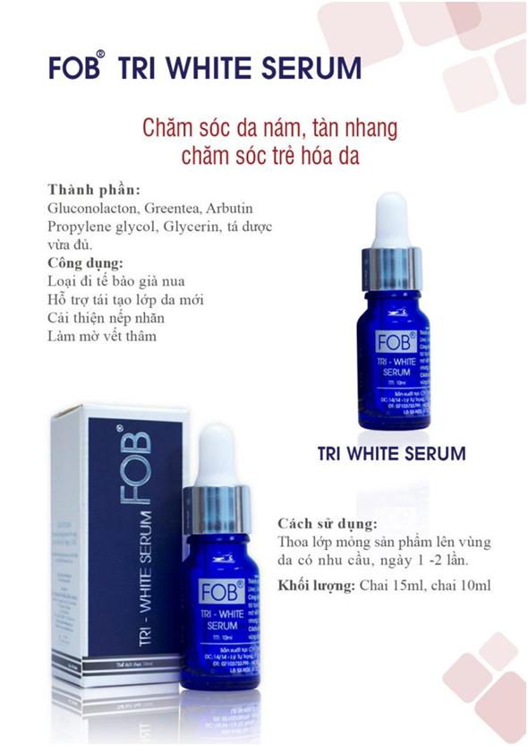 Giải pháp mới trong chăm sóc nám - tàn nhang - PGS.TS Huỳnh Văn Bá