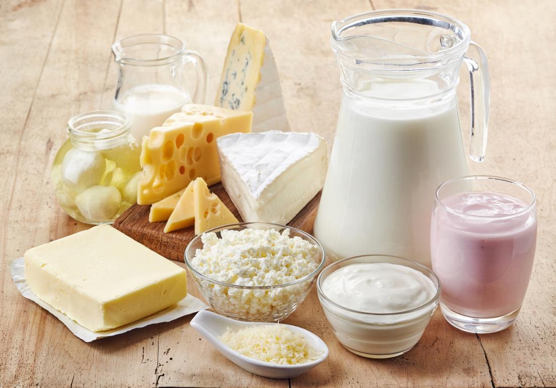 Sữa và sản phẩm từ sữa - Thực phẩm giàu canxi