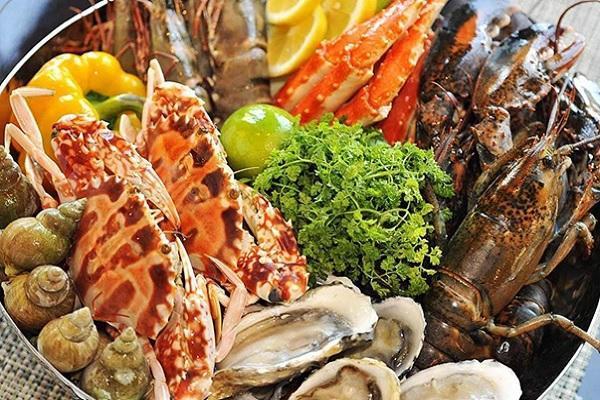 Hải sản - thực phẩm giàu canxi (Ảnh internet)