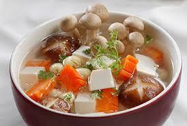 Canh đậu phụ nấu nấm - Món ngon với đậu (Ảnh Internet)