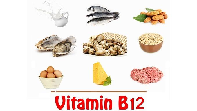 Một số loại thực phẩm có hàm lượng vitamin B12 cao