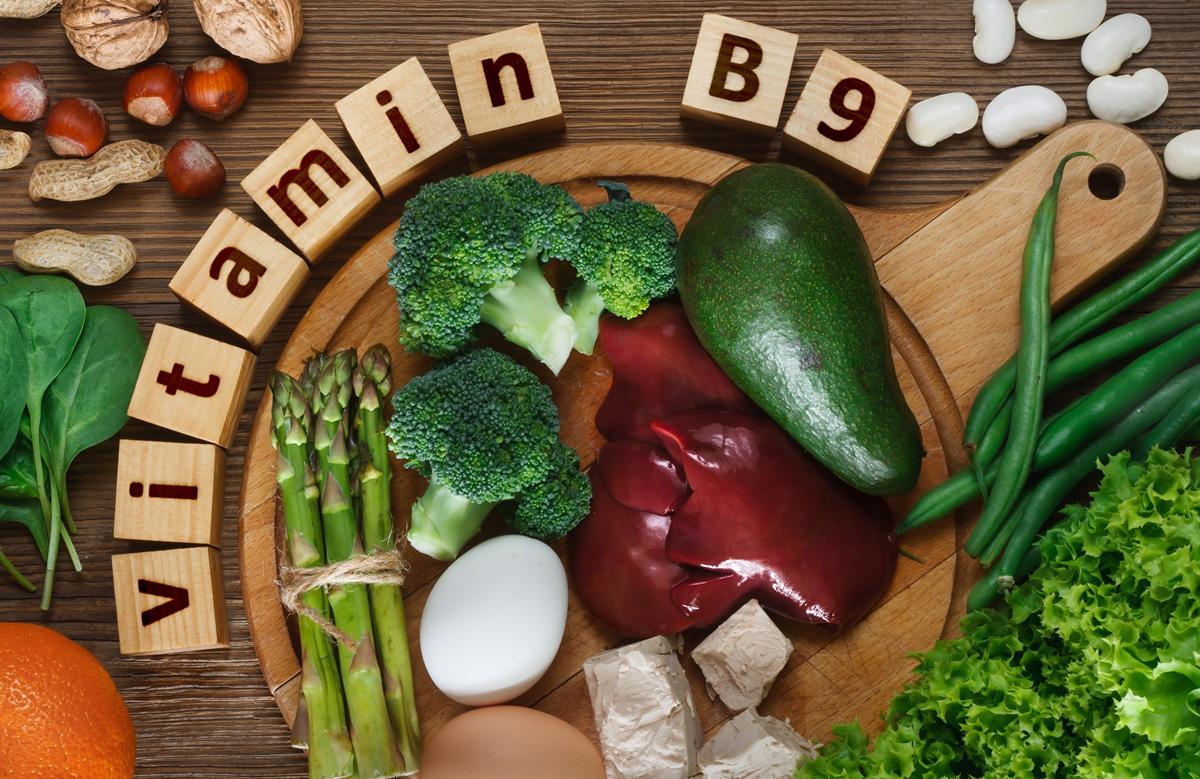 Một số thực phẩm chứa nhiều acid folic - vitamin B9
