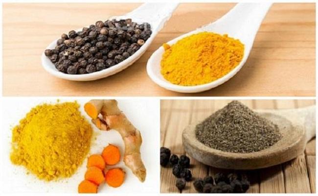 Ung thư vú nên ăn gì - Hạt tiêu đen và tinh bột nghệ