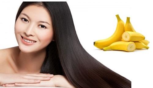 Cách làm tóc dài bằng chuối