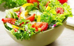 Chế độ ăn uống trị tàn nhang - Rau sống