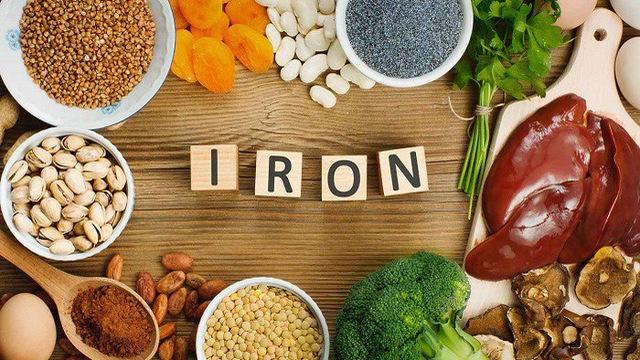 Thực phẩm bổ sung sắt - bị thiếu máu nên ăn gì