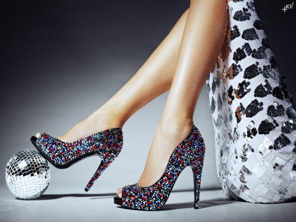 chọn giày cao gót