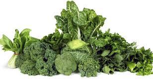 Các loại rau lá xanh đậm tốt cho người bệnh ung thư tuyến giáp