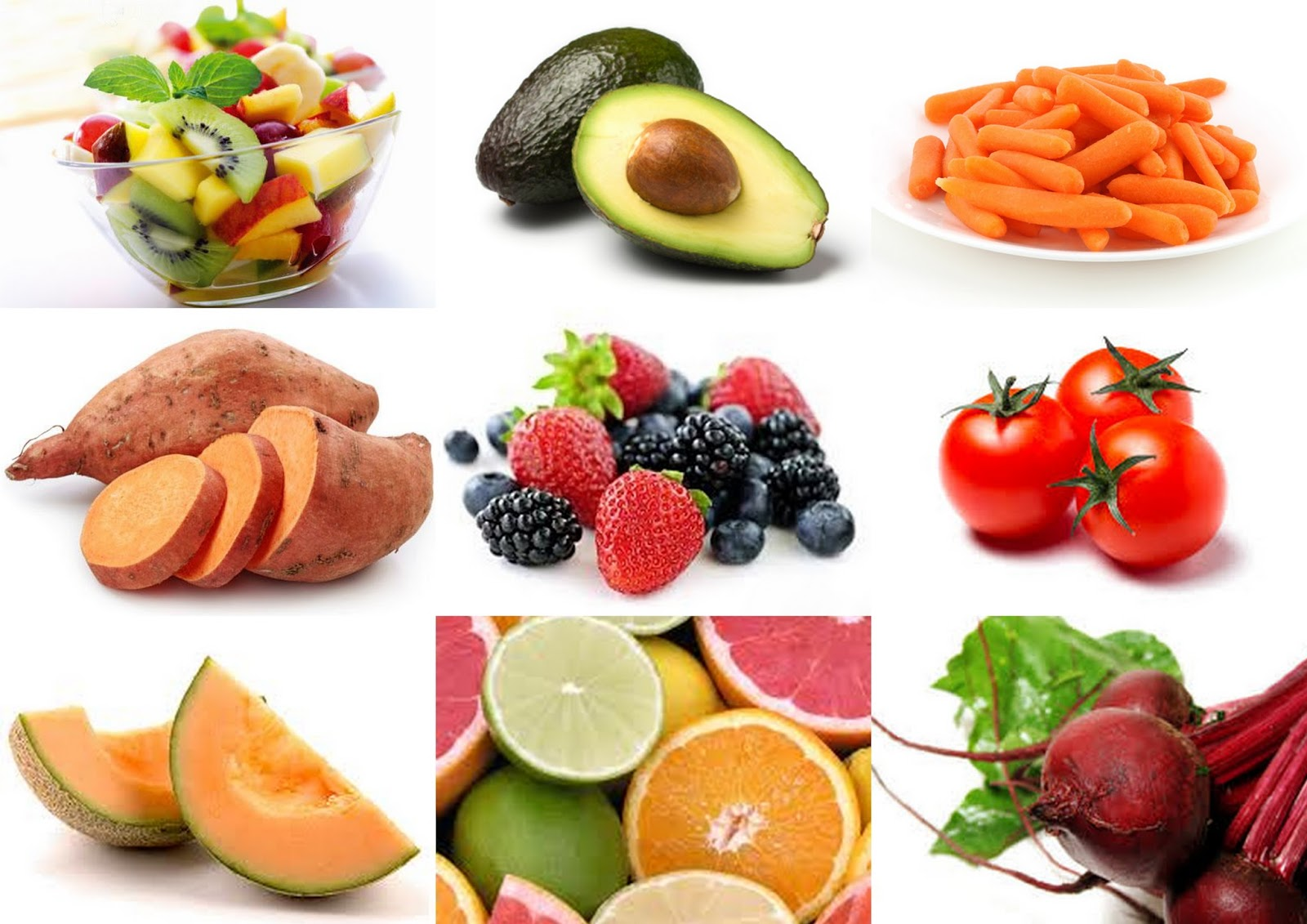 Những củ quả có màu cam hoặc đỏ rất giàu vitamin A