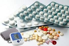 Dùng thuốc hạ huyết áp