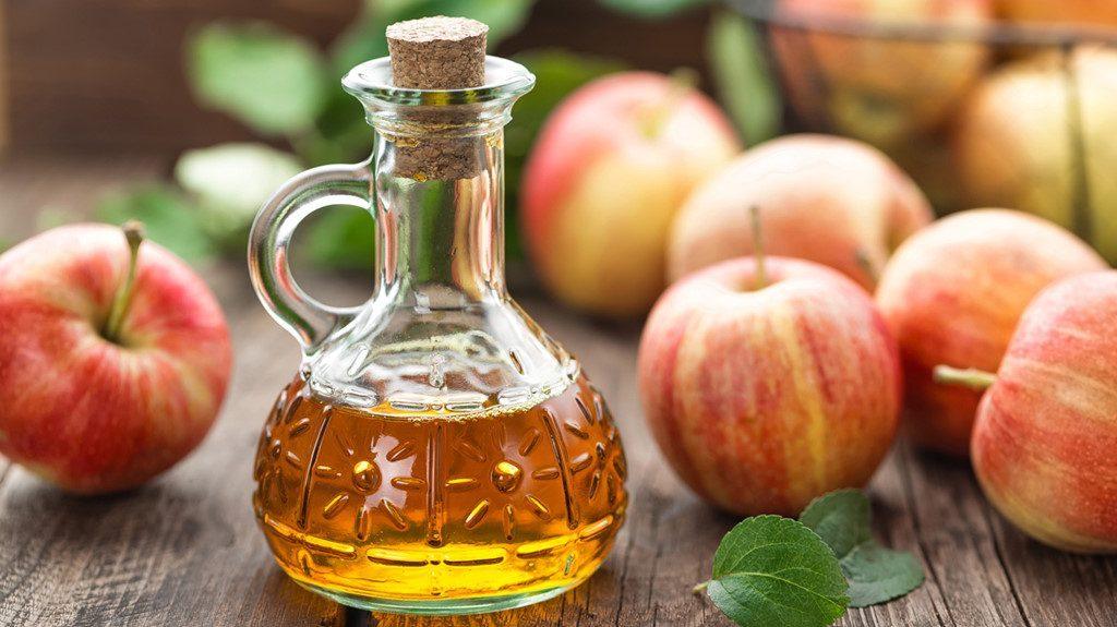 Chữa viêm âm đạo bằng giấm táo