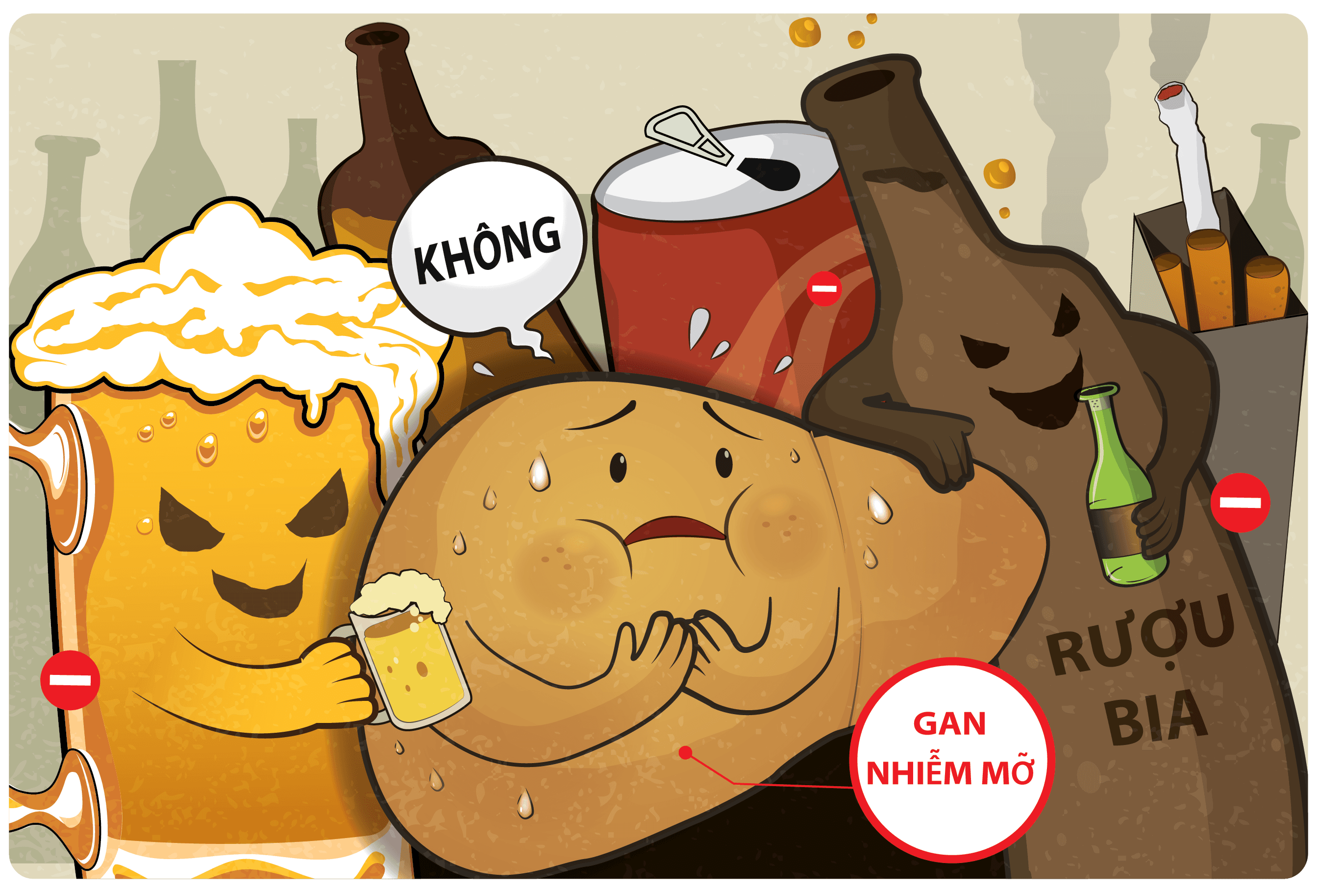 Bệnh gan nhiễm mỡ do rượu