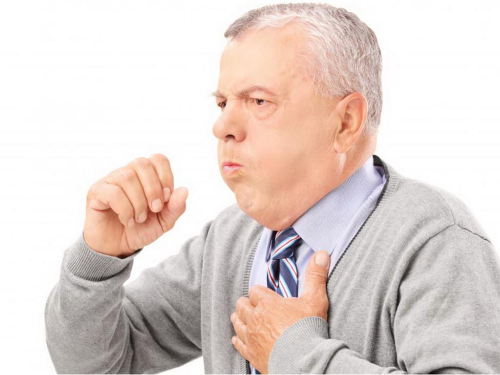 Ho khan hoặc ho đờm là một trong các triệu chứng viêm phế quản