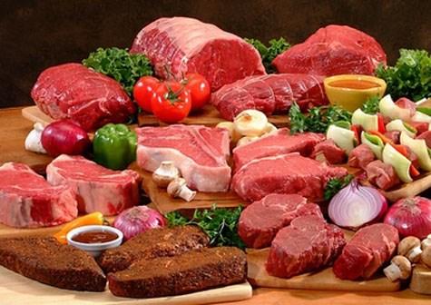 Các loại thịt giàu sắt, kẽm... rất tốt trong việc nâng cao thể trạng nói chung và hỗ trợ sinh lực phái mạnh nói riêng
