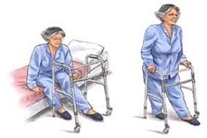 Các bài tập phục hồi chức năng sau phẫu thuật thay khớp háng nhân tạo