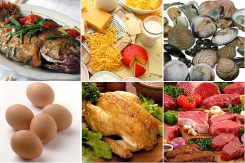 Các thực phẩm giàu kẽm tốt cho người bị mụn trứng cá
