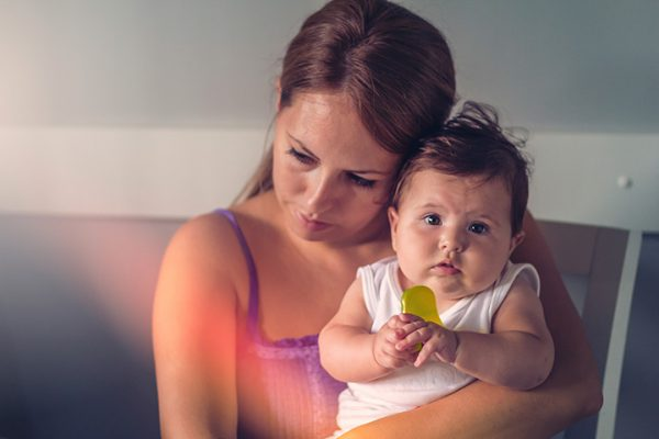 Rong kinh ở phụ nữ sau sinh