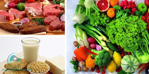 người mắc bệnh gan nhiễm mỡ nên ăn các thực phẩm giàu chất xơ, thịt nạc...