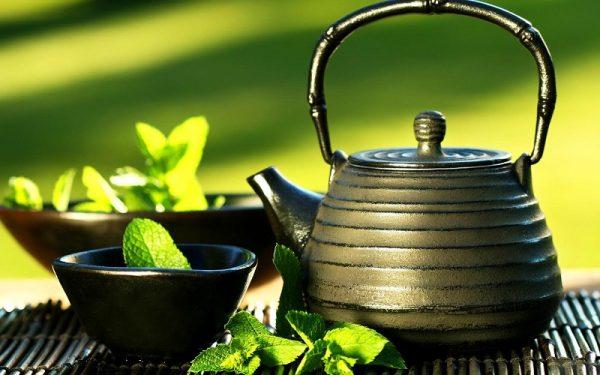 dưỡng da từ trà xanh
