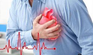 Hình ảnh: Đau thắt ngực - triệu chứng nhồi máu cơ tim điển hình (Internet)