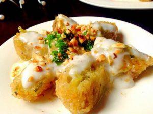 Bánh chưng bọc khoai rán (nguồn internet)