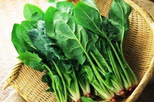 Cải xanh và các loại thực phẩm chứa nhiều nước giúp chăm sóc và bổ sung nước cho làn da khô (nguồn: internet)